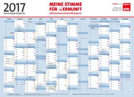 BayernSPD-Kalender 2015