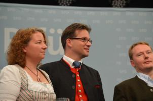 Ruth Müller und Florian Pronold