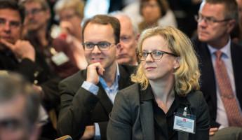 Im Publikum: Fraktionschef Markus Rinderspacher