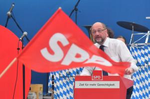 Jungbräuzelt: Martin Schulz