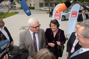 Frank-Walter Steinmeier, Edith von Welser-Ude, Natascha Kohnen und Christian Ude