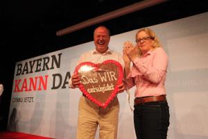 Peer Steinbrück und Natascha Kohnen (Foto: Frank Ossenbrink)