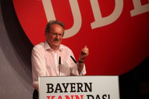 Christian Ude während seiner Rede (Foto: Frank Ossenbrink)