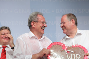 Christian Ude und Peer Steinbrück (Foto: Frank Ossenbrink)
