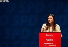 Johanna Uekermann spricht über das Wahlprogramm