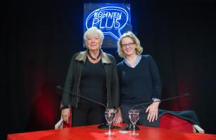 Natascha Kohnen und Renate Schmidt beantworten Fragen