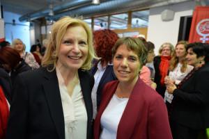 Die Preisträgerinnen Maren Kroymann und Margot Käßmann