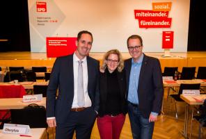 Markus Kennerknecht, Natascha Kohnen und Markus Rinderspacher
