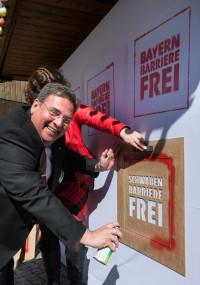MdL Herbert Wörlein wird in Schwaben die Barrierefreiheit zum Thema machen.