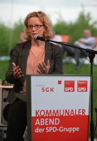 Natascha Kohnen spricht