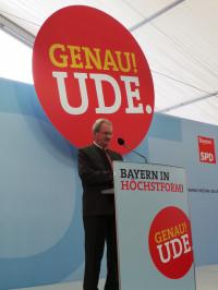 Christian Ude während seiner Rede