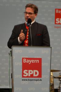 Florian Pronold auf dem Gillamoos