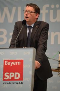 Thorsten Schäfer-Gümbel während seiner Rede