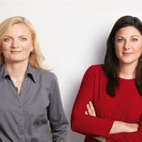 Mariette Eder und Johanna Uekermann