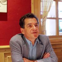 Klaus Barthel auf dem Pressestammtische der BayernSPD (Foto: Robert Auerbacher)
