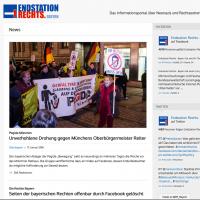 Die Website von Endstation recht: https://endstation-rechts-bayern.de/