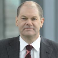 Porträtfoto von Olaf Scholz