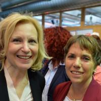 Maren Kroymann und Margot Käßmann