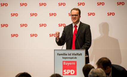 Markus Rinderspacher bei seinem Grußwort