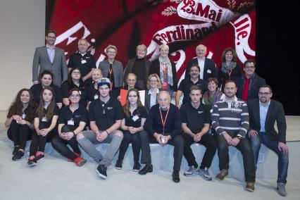 Mitglieder der Ansbacher Robert-Limpert-Berufssschule - Bildrechte: Marco Leibetseder/editorial247.com