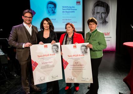 Toni-Pfülf-Preis - Foto der Preisträgerinnen