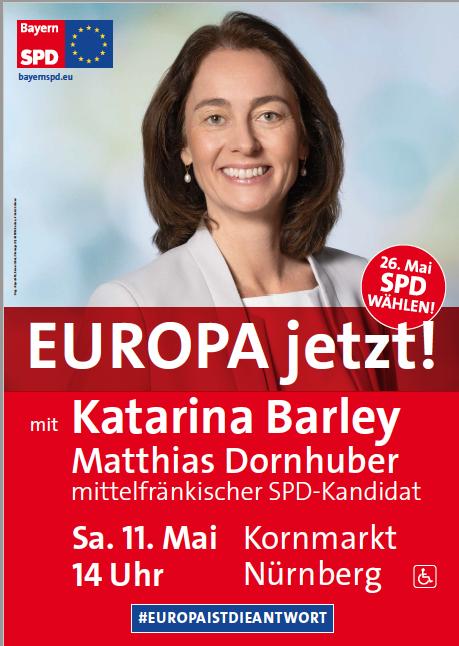11.05.2019 Katarina Barley in Nürnberg