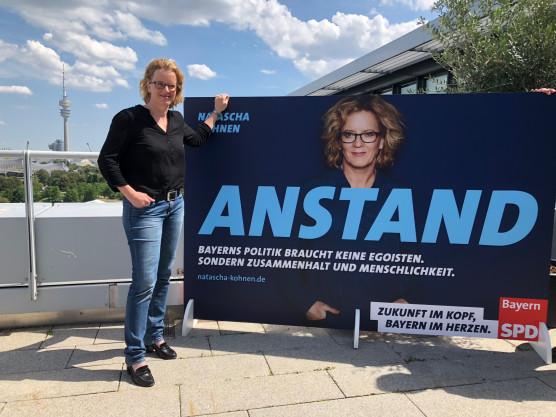 Plakatpräsentation_Natascha Kohnen
