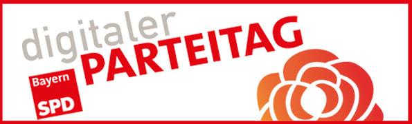 Schmaler Banner Kleiner Parteitga