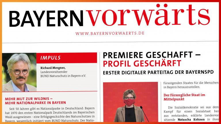 BayernVorwärts Oktober 2020 Vorschaubild