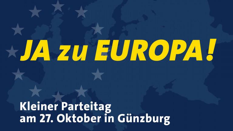 Ja zu Europa - Kleiner Parteitag