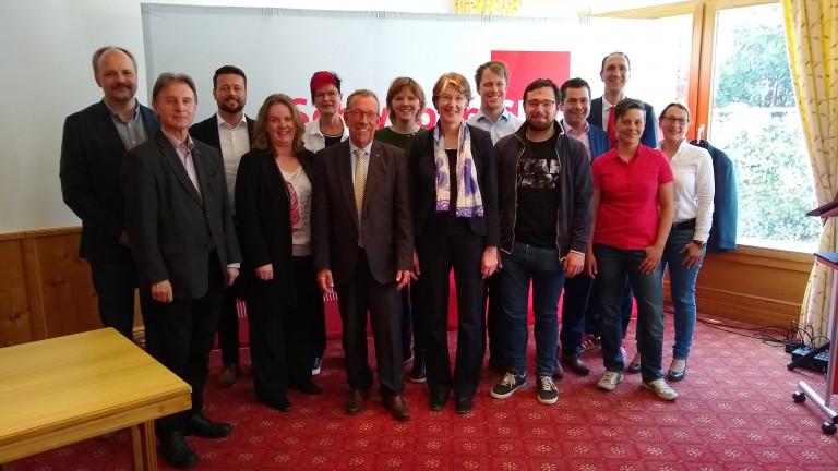 Vorstand Schwaben SPD 2019