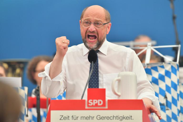 Ein kämpferischer Martin Schulz